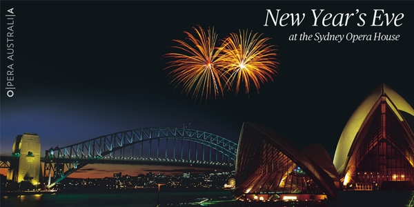 New Year's Eve at the Sydney Opera House
